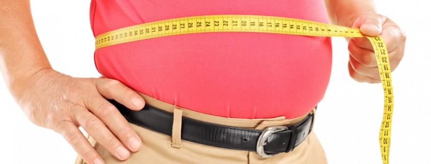 Persona con sobrepeso